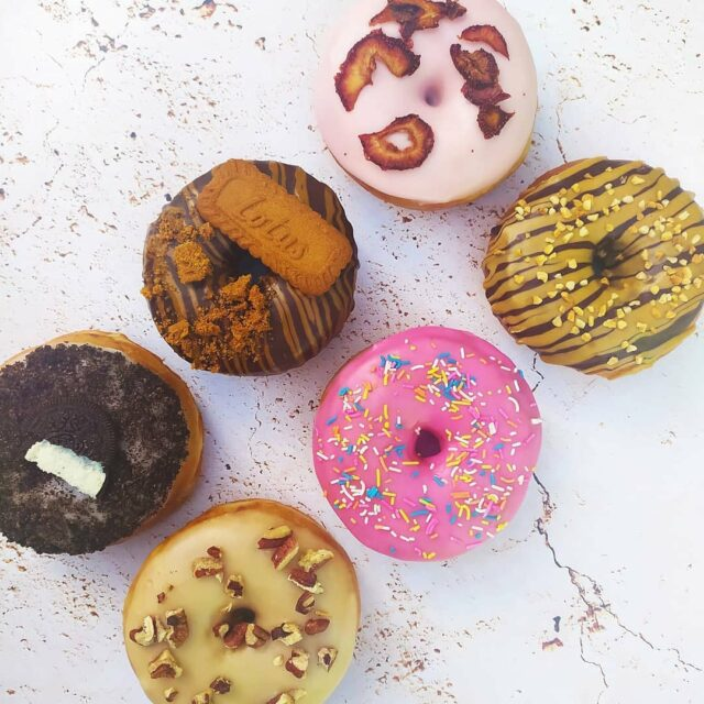 DOUGHNUT DAY 2021 🍩🍩🍩 Yes you heard that right - it's International Doughnut Day THIS Friday (4 June 2021). We are ready to celebrate and have an amazing SPECIAL on our mixed box of our yeast raised doughnuts (that just happen to be vegan too!) 🍩🍩🍩 BESTSELLER BOX: R180 6 doughnuts, including Cookies & Creme,  Biscoff,  Salty Maple Pecan,  Strawberry Milkshake,  Homer's Do'hnut (Pink with sprinkles) AND Peanut Butter and Dark Chocolate  🍩🍩🍩 BASIC (but not basic) BOX: R160 2 each in chocolate dipped, vanilla glazed and cinnamon sugar  🍩🍩🍩 Collection from our studio in Woodstock on Friday between 9am - 3pm, and Saturday 5 June from 9am - 11am 🍩🍩🍩 DM your box choice & quantity to us, as well as your email address then we will send an invoice for payment. Orders have to be paid in full by 17:00 on Thu.  Orders close Thu @ 13:00.  No substitutions or changes 🍩🍩🍩 #internationaldoughnutday #doughnutday #internationaldoughnutday2021 #donuts #doughnuts #🍩🍩🍩 #crumb #veganbycrumb #crumbcakes #doughnuts #dohnuts