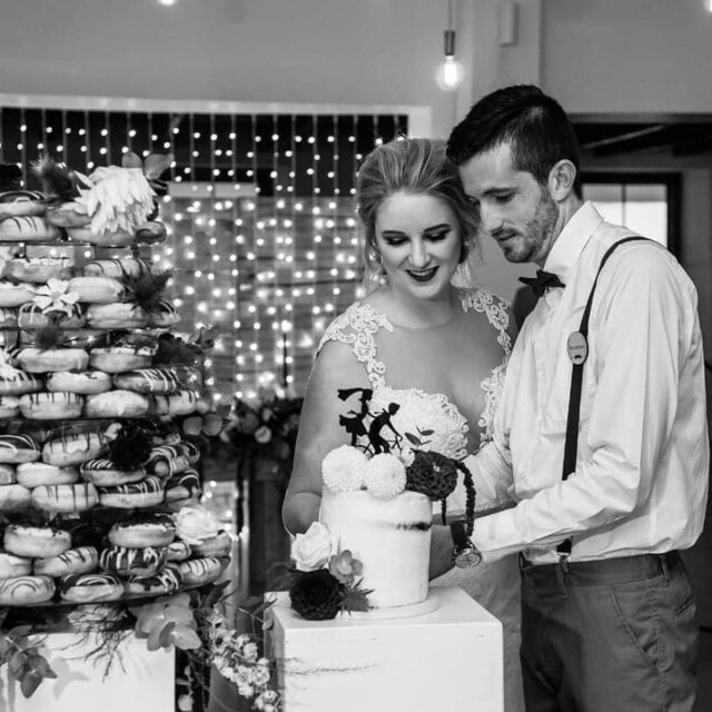 Tanya and Neil opted for a mountain of sourdough ring doughnuts for their big day with a naked cake top tier to cut. Thank you Tanya for your beautiful post about my Kokkedoor stint and for posting a special shout out about your cake! My clients really are the coolest.  #crumb #crumbcakes #crumbcakessa #cakeme #capetown #pastrychef #cake #baking  #baker #weddingcakes #weddingcake #doughnuts #kokkedoor #anmarkokkedoor #kokkedoor3